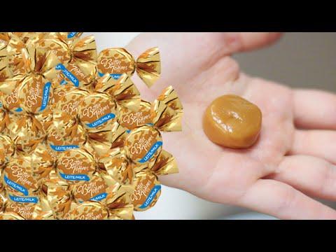 DIY: Como fazer bala de caramelo no micro-ondas   Butter Toffees