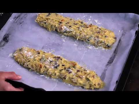 Dried Fruit Biscotti Recipe