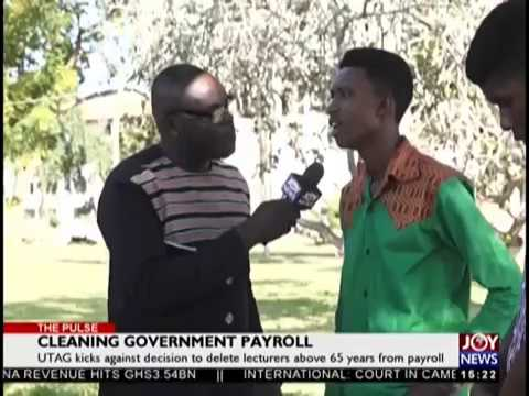 Cleaning Government Payroll - The Pulse on JoyNews (19-10-18)