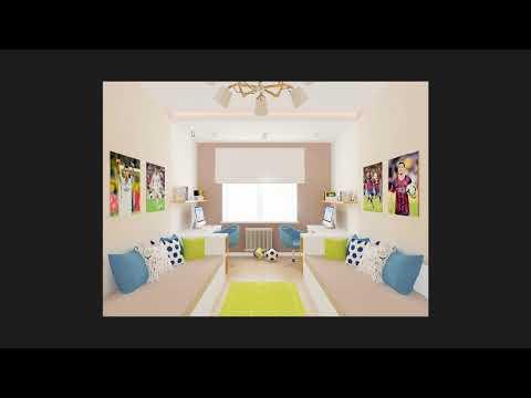 Презентация интерьера детской комнаты