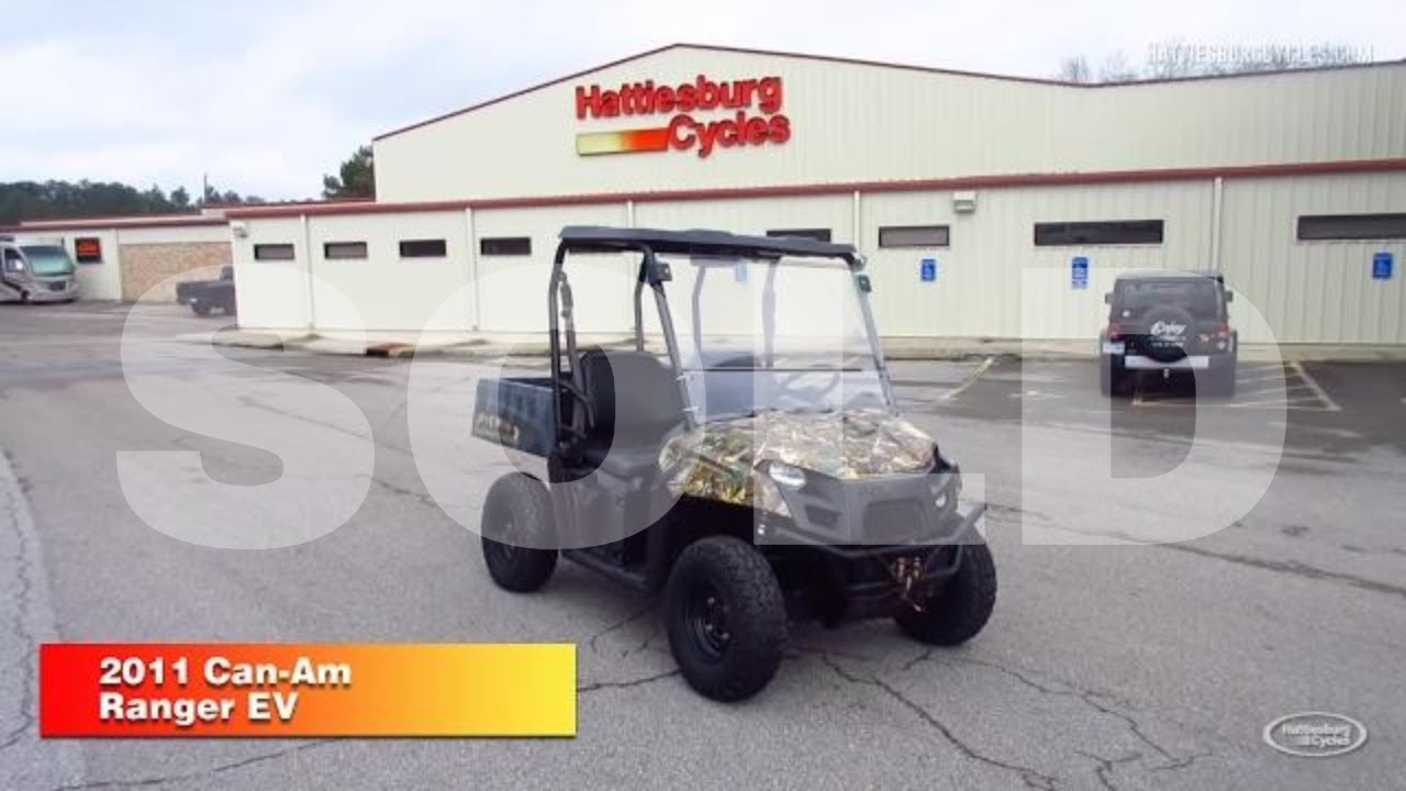 2011 Polaris Ranger EV (P18730)   HattiesburgCycles - YouTube