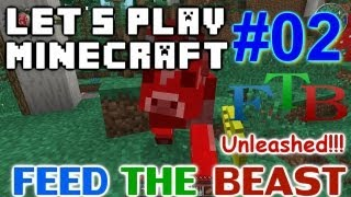Let's Play Minecraft Hermitcraft FTB Unleashed Ep. 2 - Enchanting & Twilight Forest!