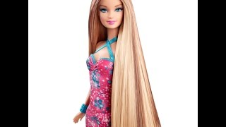 видео Как выпрямить волосы кукле Барби в домашних условиях