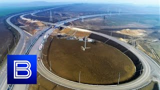 Revitalization of Crimea Continues at Rapid Pace! Brand New Tavrida Highway 75% Complete!