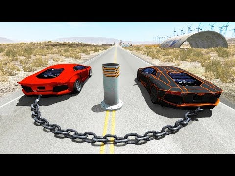 High Speed Jump Crashes BeamNG Drive Compilation #22 (Car Shredding Experiment)