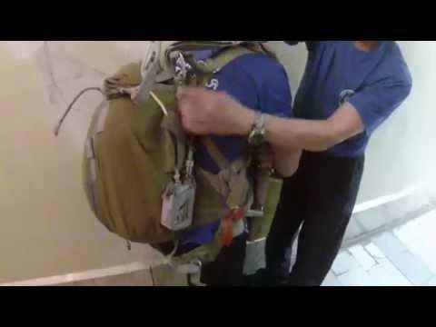 парашют Д-6, динамика раскрытия