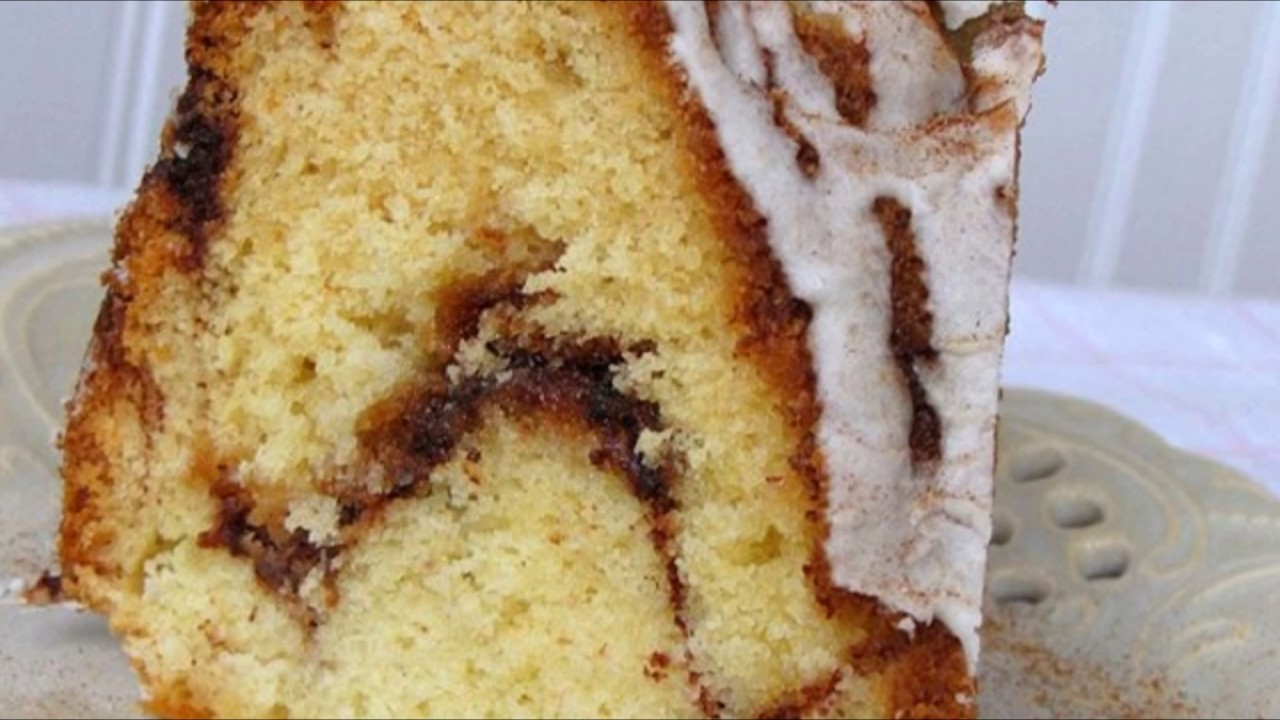 Cake Recipes In Otg Youtube: Recipe: Cinnamon Swirl Bundt Coffee Cake