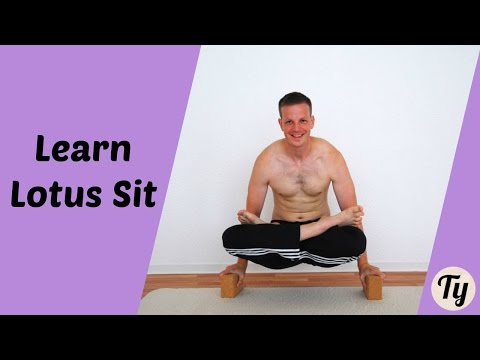 Progression to Full Lotus Sit (without Knee Damage!) Yoga Padmasana