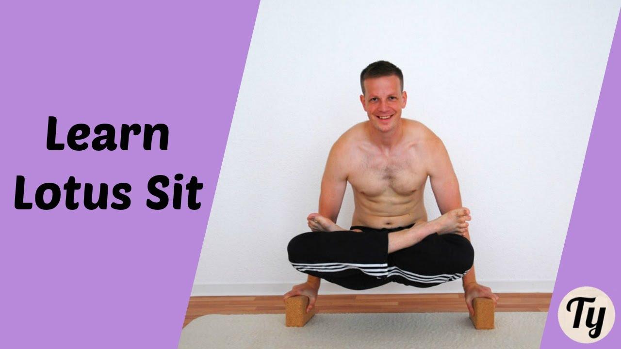 progression to full lotus sit (without knee damage!) - yoga