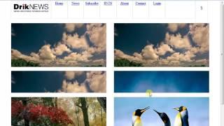 HTML CSS Practise-DrikNews part 4