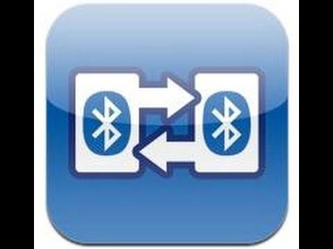 Передача файлов с одного устройства на другое через Bluetooth