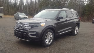 2020 Ford Explorer Limited AWD: Start Up, Exterior, Interior, Brief Drive & Full Review