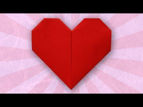 Origami Heart (Folding Instructions)