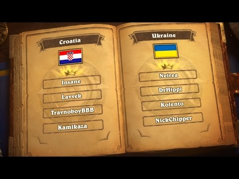 Croatia vs. Ukraine - Group H - Match 2 - 2017 Hearthstone Global Games  - Week 2