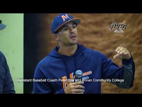 Assistant Baseball Coach Peter Star McLennan Community College