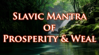 JARUHA - Słowiańska mantra pomyślności, Славянская мантра процветания, Slavic mantra of weal