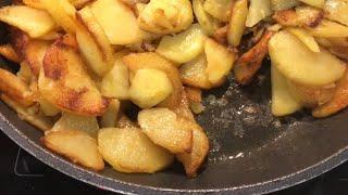 Как жарить картошку Простой способ