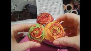 Candy's Creations - Walnut Rose Tutorial Thumbnail