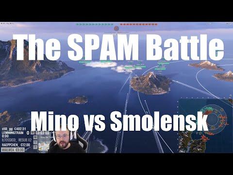 Highlight: The Spam-Battle, Minotaur Vs Smolensk 12vs12