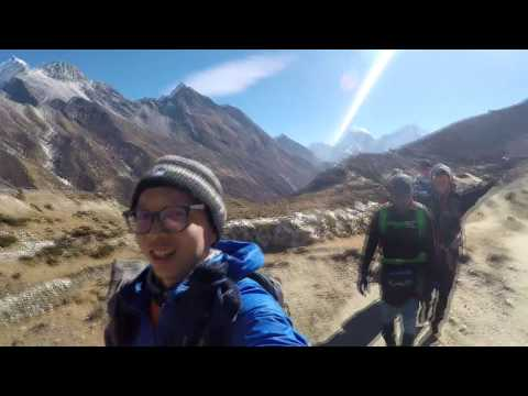 Everest Base Camp via Gokyo in 6 minutes