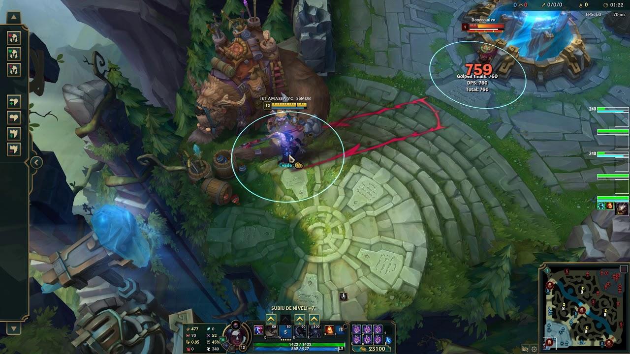 Kayn exploit W/killing from base