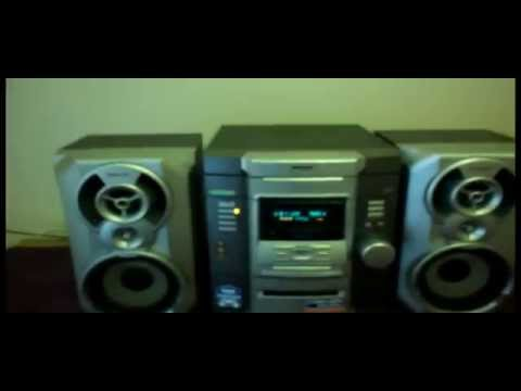 SONY MHC-RG22 COMPONENT HIFI STEREO MUSIC SYSTEM 3 DISC CD PLAYER GAME SYNC