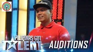 Pilipinas Got Talent Season 5 Auditions: Geffrey delos Reyes - Close-up Magician