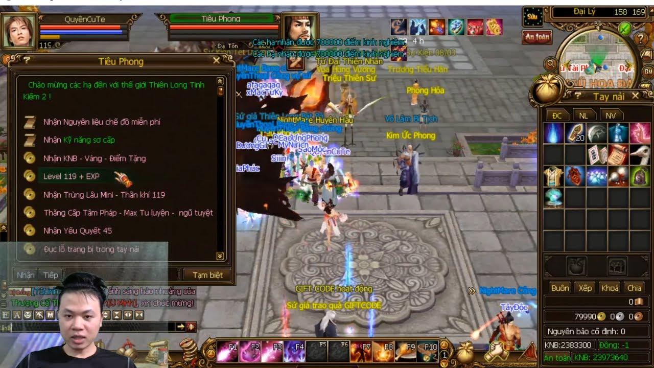 Hướng Dẫn Tân Thủ Game Thiên Long Tình Kiếm 1 và 2 | TLBB