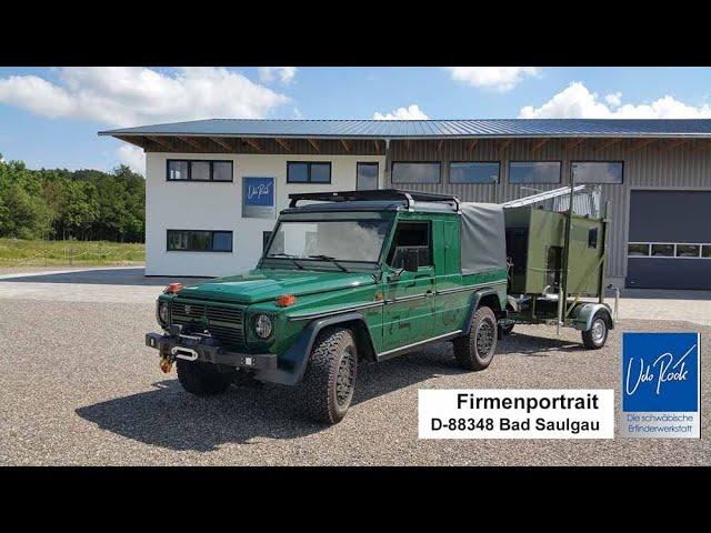 MobiJagd - Die komplette Erklärung der mobilen Jagdkanzel Puch Edition