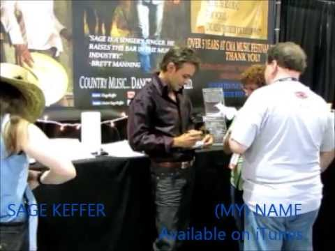 "CMA Music Festival, ""(My) Name""/ Sage Keffer greets his fans: Day 1 Video 7"