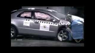 Crash test Honda Civic 2007