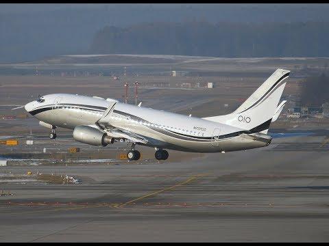 FSX - PMDG Boeing 737 700 BBJ MID EAST JET - VOO CHARTER RIO DE JANEIRO (SDU) PARA RIBEIRÃO PRETO