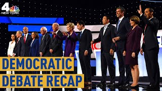 Democratic Debate Highlights: 12 Candidates Face Off on Guns, Syria | NBC New York