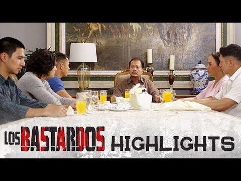 Don Roman, kinausap ang kanyang mga anak tungkol kay Matteo | PHR Presents Los Bastardos