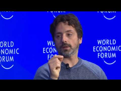 The Future of AI and Google - Davos 2017 with Sergey Brin