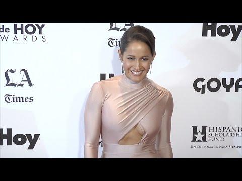 Jaina Lee Ortiz // Latinos de Hoy Awards 2015 Red Carpet Arrivals thumbnail