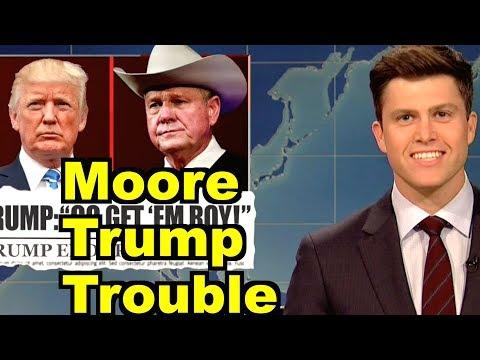 Moore Trump Trouble - Bernie Sanders, Colin Jost & MORE! LV Sunday LIVE Clip Roundup 242