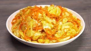 КАПУСТА ПО-КОРЕЙСКИ - отличная закуска из простых продуктов. Рецепт от Всегда Вкусно!