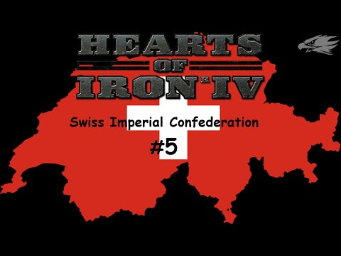Hearts of Iron IV, Gameplay, Swiss Imperial confederation 5, Let's Play, How to, Video