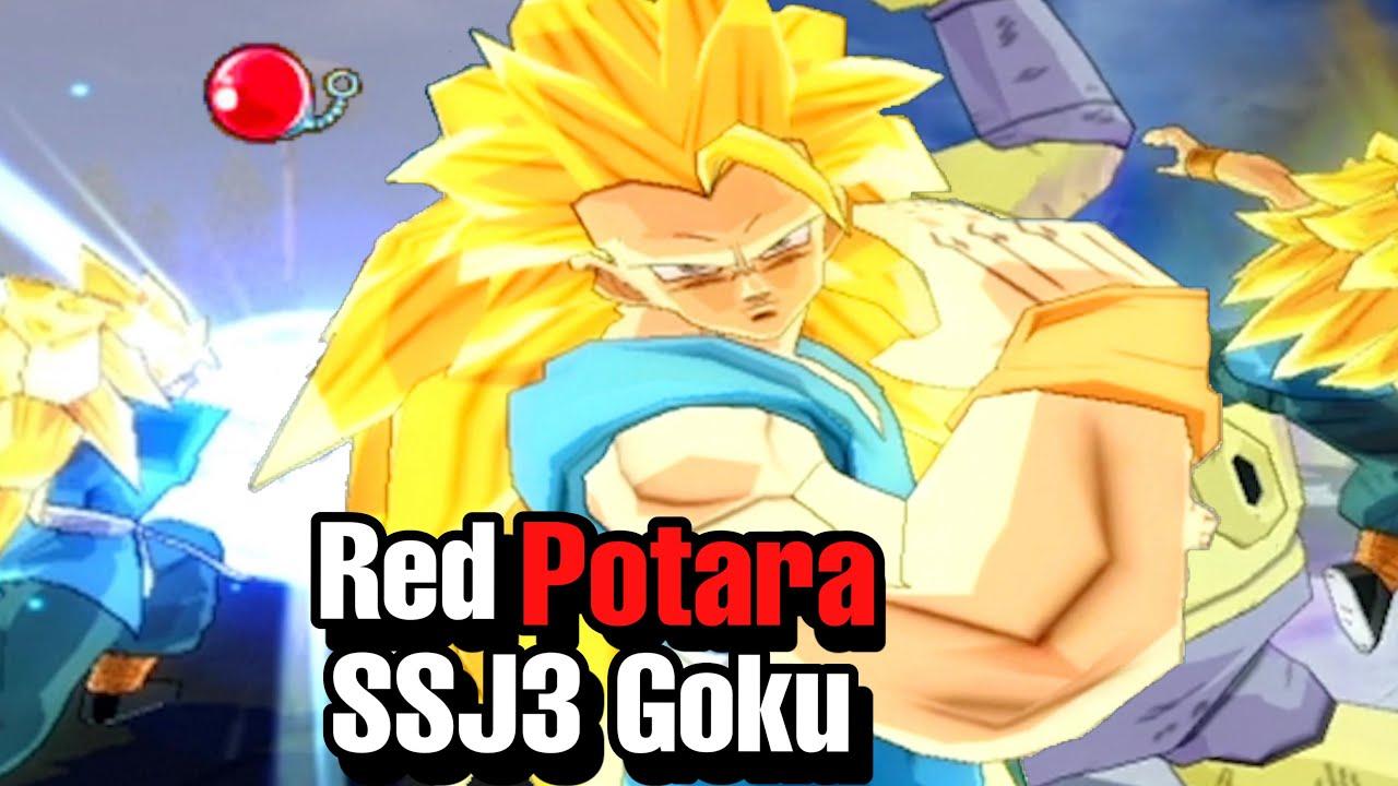 Download Red Potara SSJ3 Goku And His INFINITE Instant Transmission Spam! Budokai Tenkaichi 3