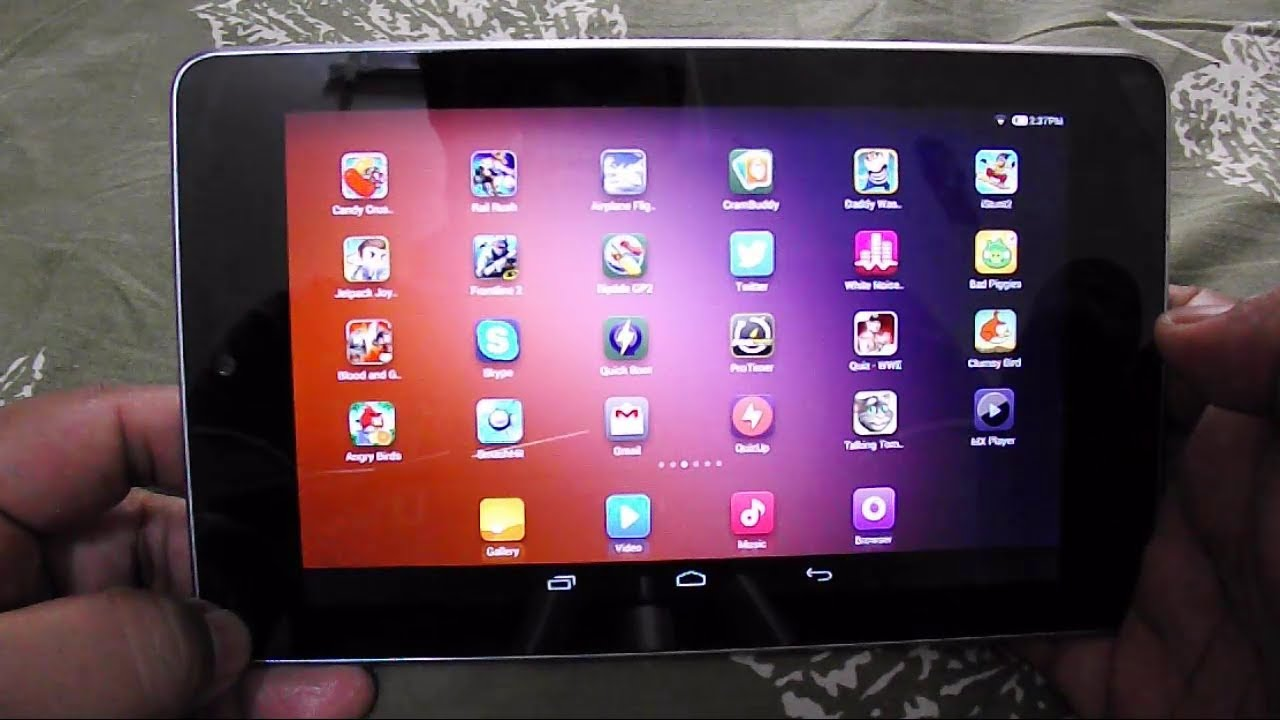 Miui V6 Rom For Nexus 7 2012 Review Youtube