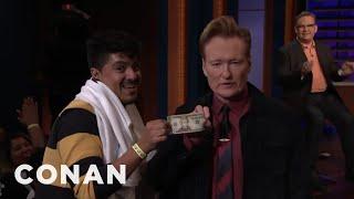 Conan Gives A Fan His Money Back - CONAN on TBS