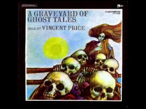 Vincent Price  A Graveyard of Ghost Tales 1974 Full LP