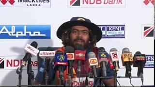 Lasith Malinga at Post Match Press Conference - Sri Lanka vs West Indies 2nd T20I