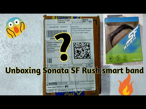 SF Rush Activity Tracker Band Unboxing, Features, Setup🔥🔥