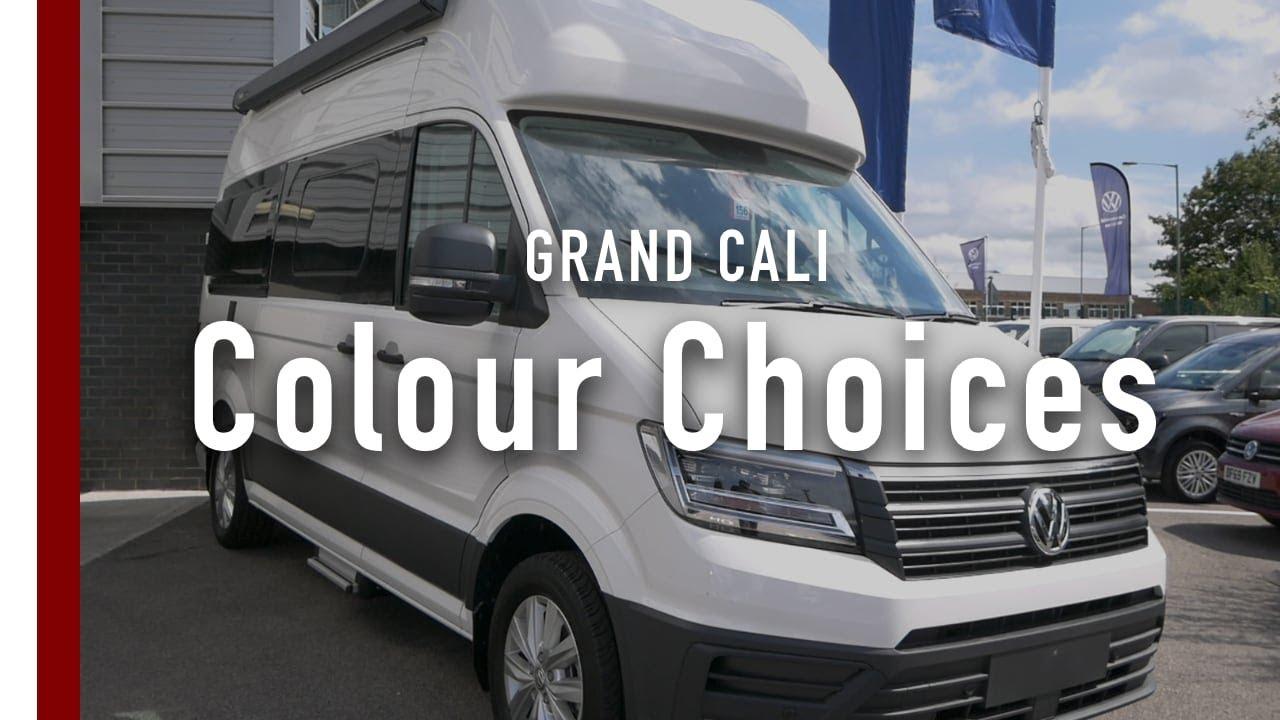VW Grand California Colour Options 600 & 680 | California Chris