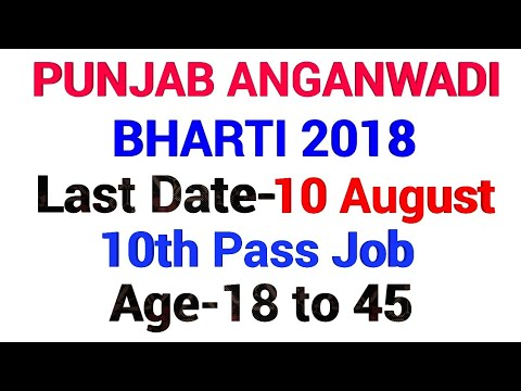 GOVERNMENT JOB IN AUGUST 2018 IN PUNJAB|PUNJAB GOVT JOBS||AUGUST 2018|GOVT JOB NEWS-AUGUST 2018