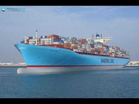 EUGEN MAERSK CONTAINER SHIP FOR MERCHANT NAVY