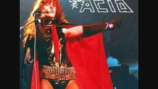 Acid - Maniac / Hooked On Metal - Live in Belgium 1984