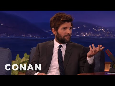 Adam Scott Got Dissed By Taylor Swift  - CONAN on TBS